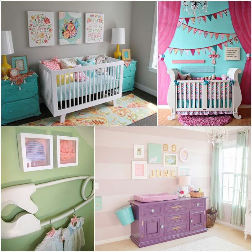 a  15 Adorable Ideas to Decorate Baby Nursery Walls a18