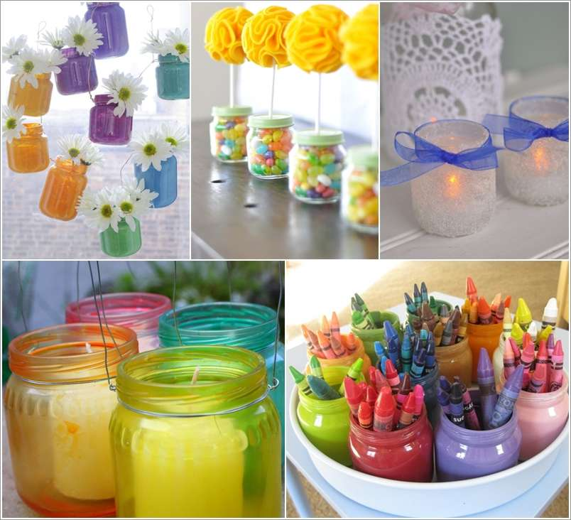 Awesome Ideas To Recycle Baby Food Jars For Home Decor