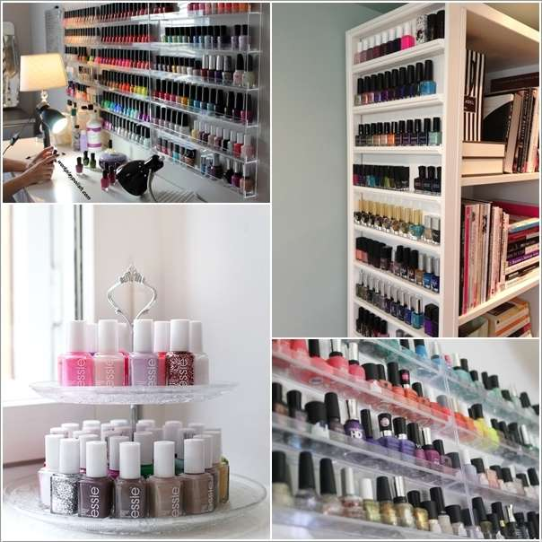 10 cool and clever nail polish storage ideas solutioingenieria Image collections