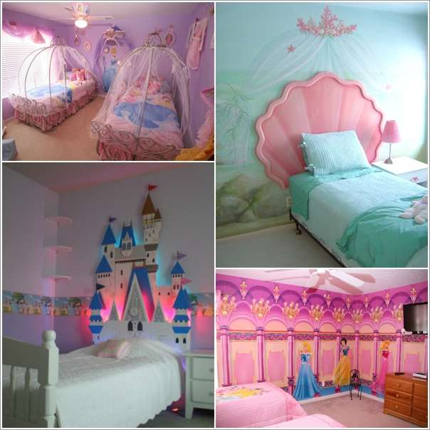 15 lovely disney princesses inspired girls 39 room decor ideas