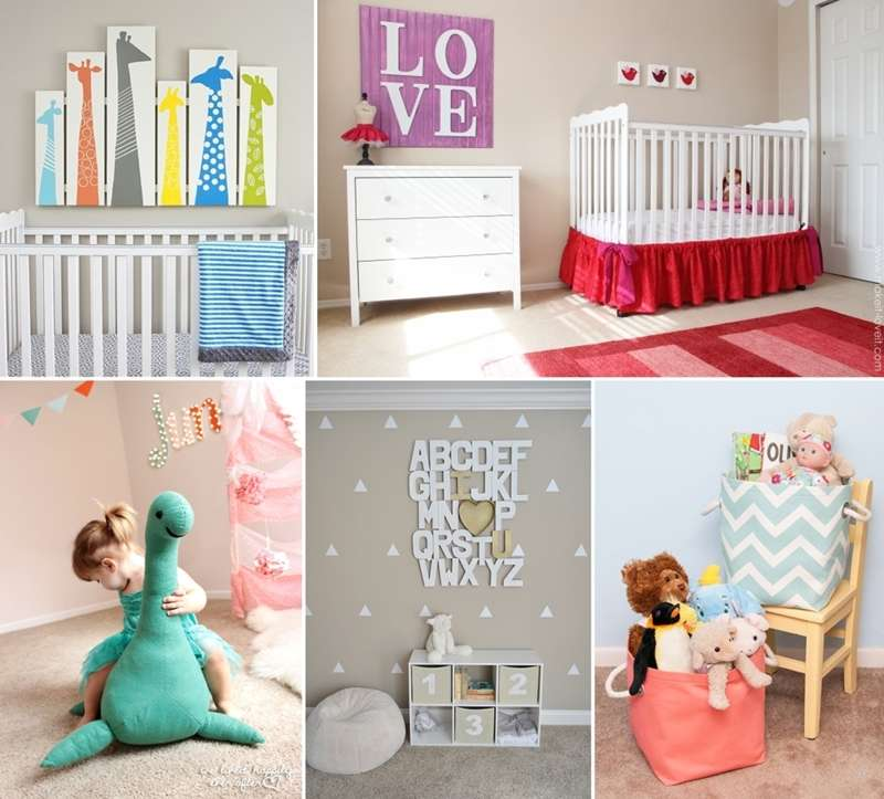 25 diy ideas to design a dreamy baby nursery