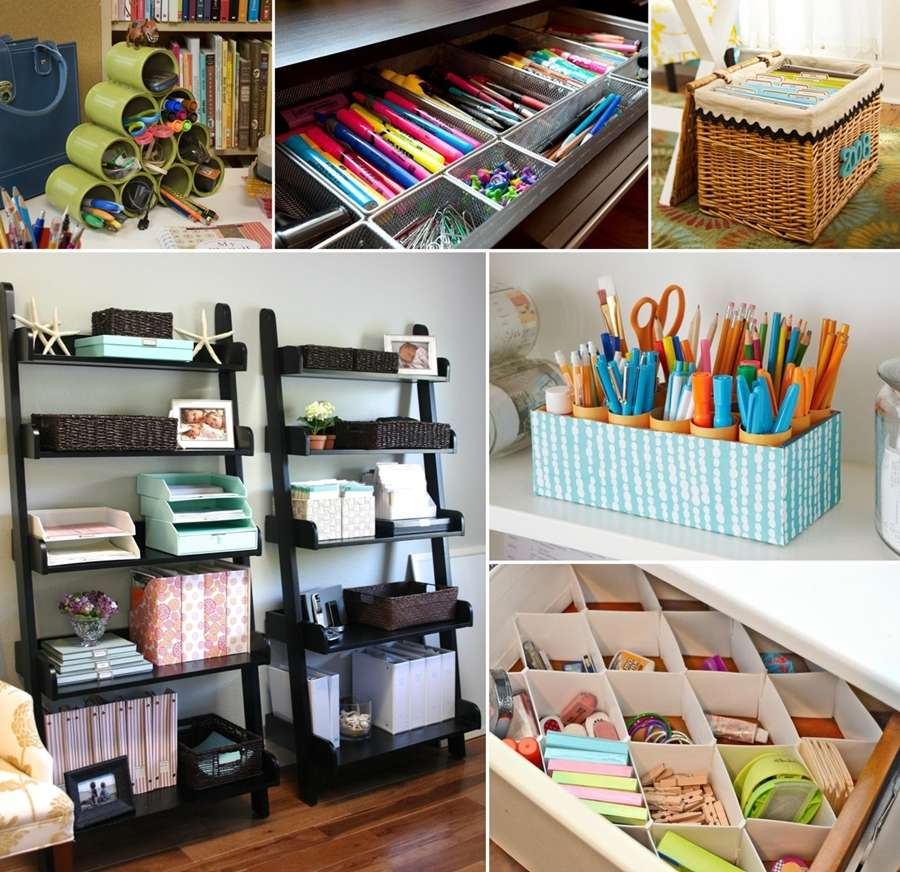 Organize your office 28 images organize your home office day 11 living well spending - Smart and amazing interior design ideas and tricks for your home ...