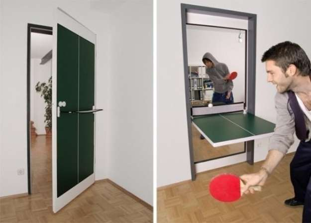 ping-pong table slash door