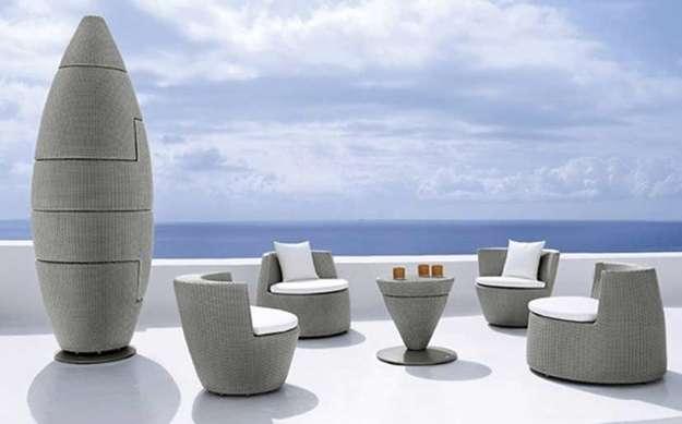pod of furniture