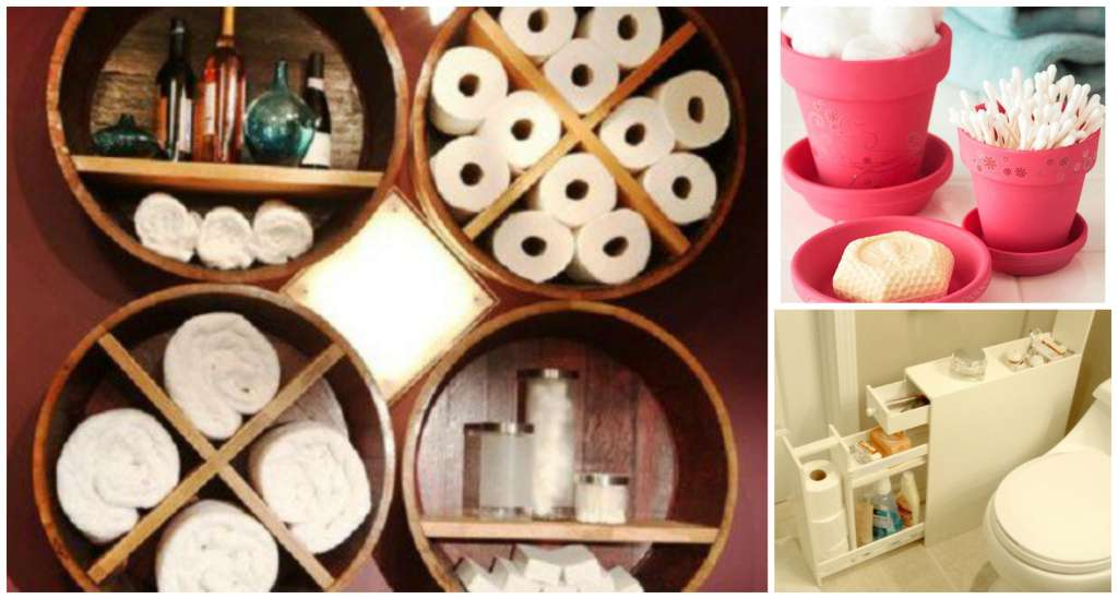 10 Creative Diy Small Bathroom Storage Ideas