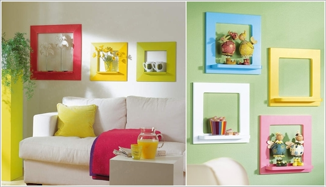 1  10 Amazing Ideas to Decorate Your Home with Frames 1
