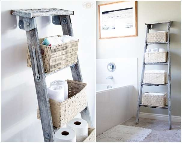 10  10 Awesome Ideas to Organize with Ladders 1016