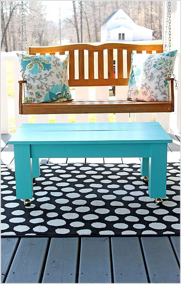 11  15 Awesome DIY Coffee Table Ideas for Your Living Room 112