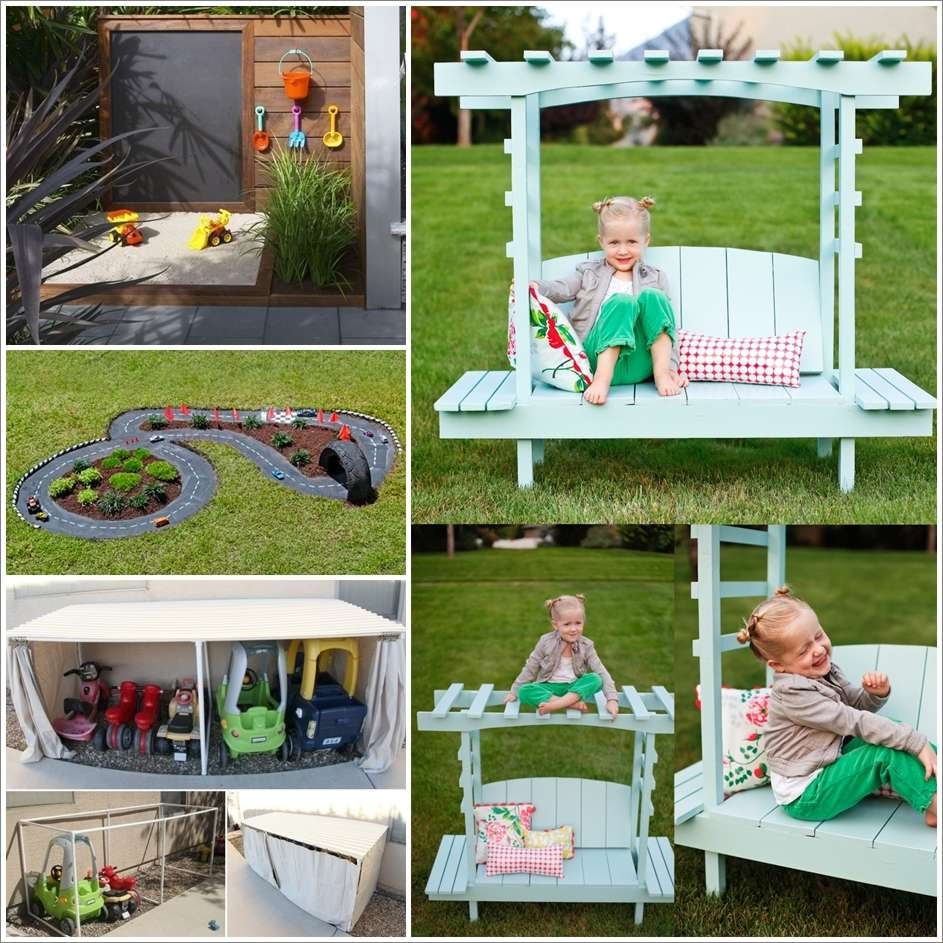 25 Fun Backyard Diy Projects For Kids