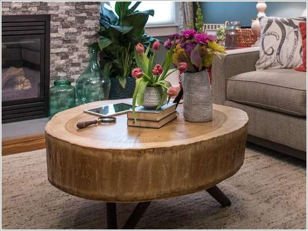 13  15 Awesome DIY Coffee Table Ideas for Your Living Room 131