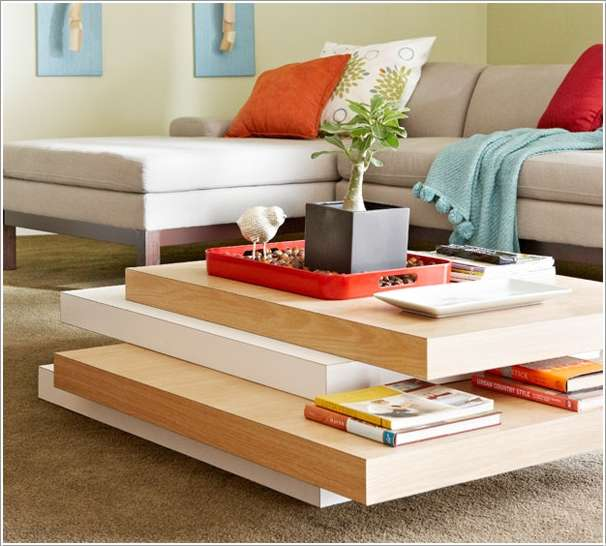 14  15 Awesome DIY Coffee Table Ideas for Your Living Room 141