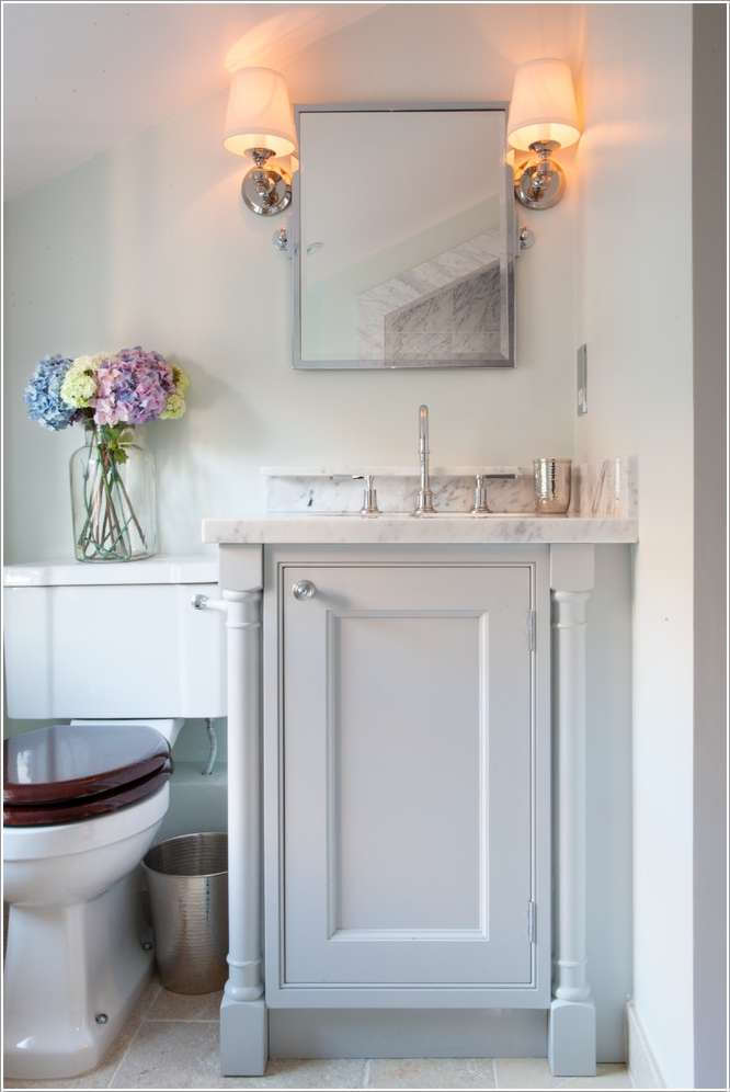 15 Fabulous Small Bathroom Makeover Ideas