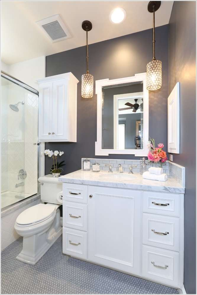 15  15 Fabulous Small Bathroom Makeover Ideas 1518