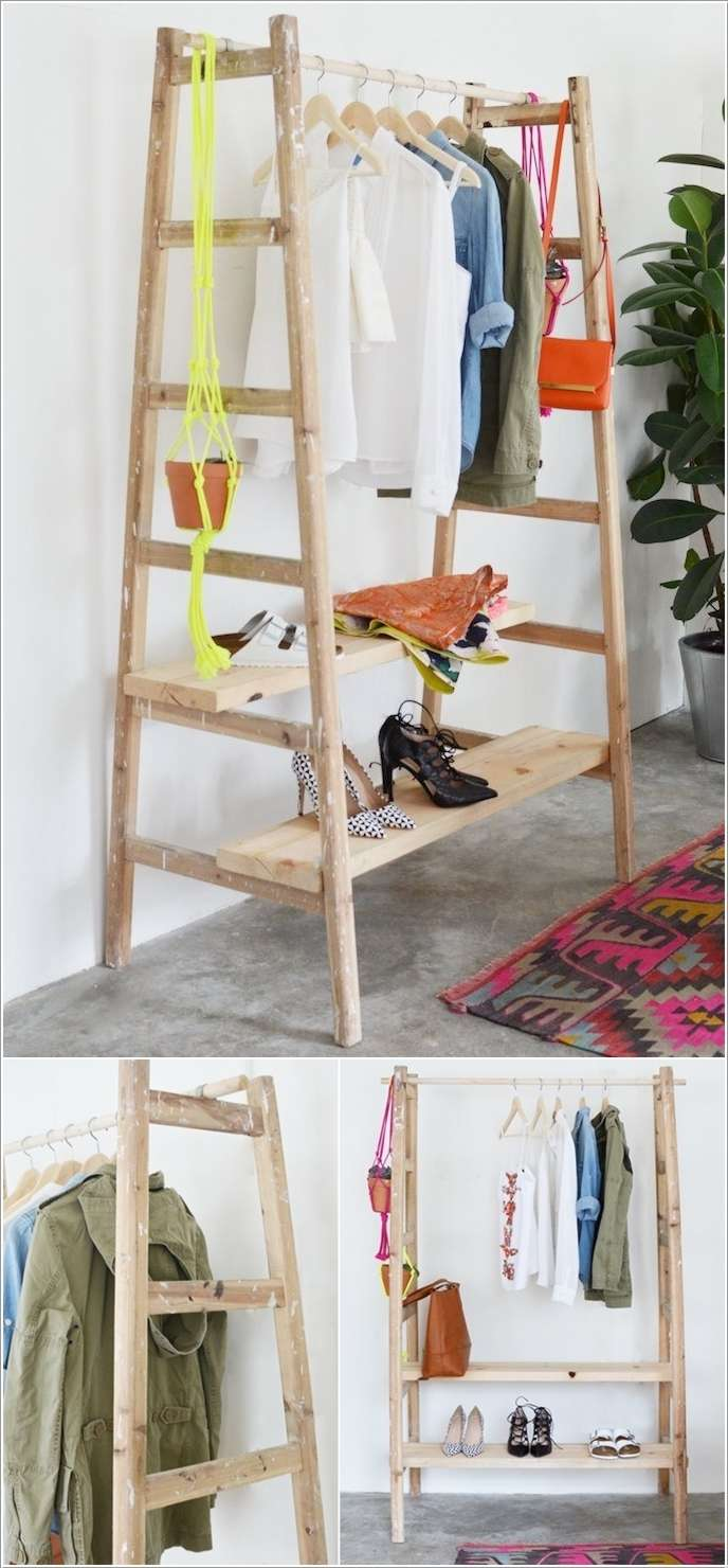 1  10 Awesome Ideas to Organize with Ladders 156