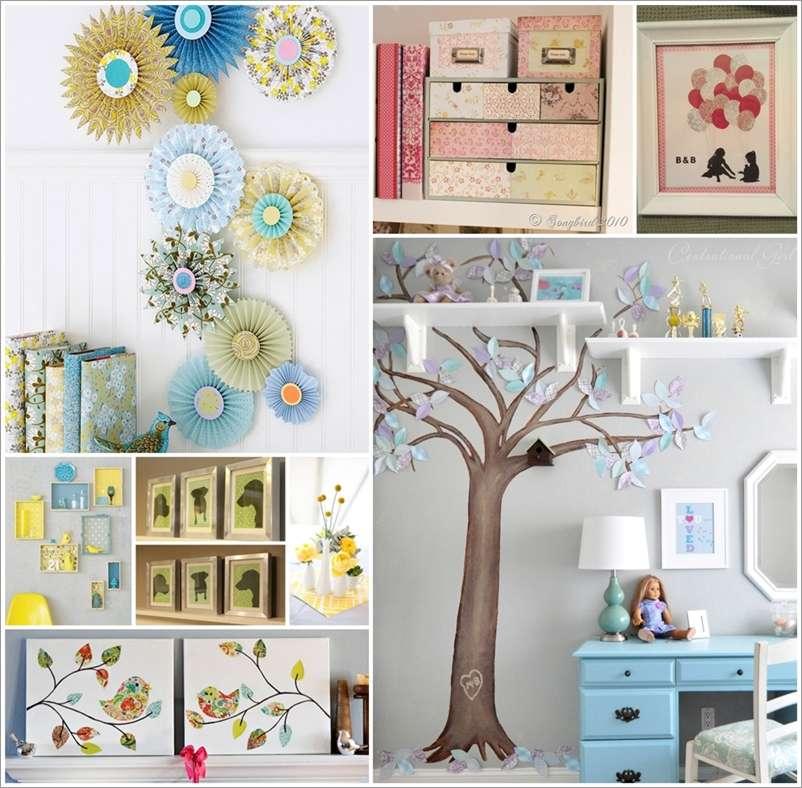 Decorating Paper Crafts For Home Decoration Interior Room: Amazing Interior Design