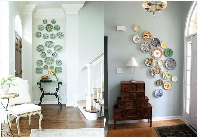 15 amazing hallway wall decor ideas for your home for Drawing hall wall designs