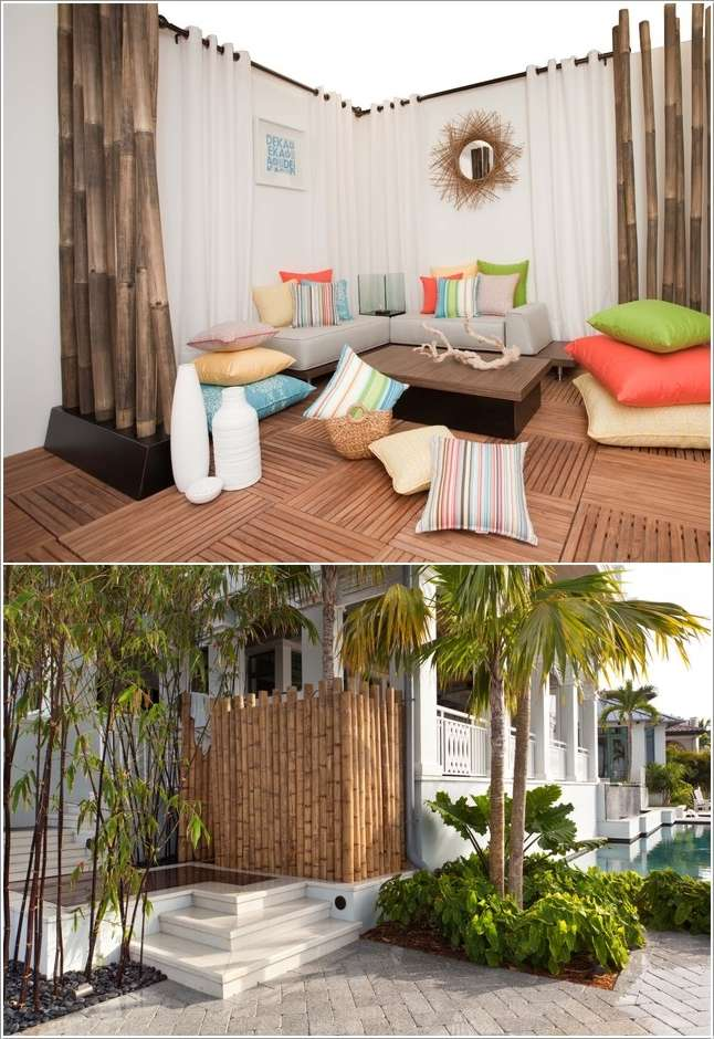 Inspiring Ideas To Decorate Your Home With Bamboo