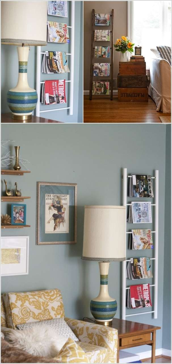 4  10 Awesome Ideas to Organize with Ladders 415