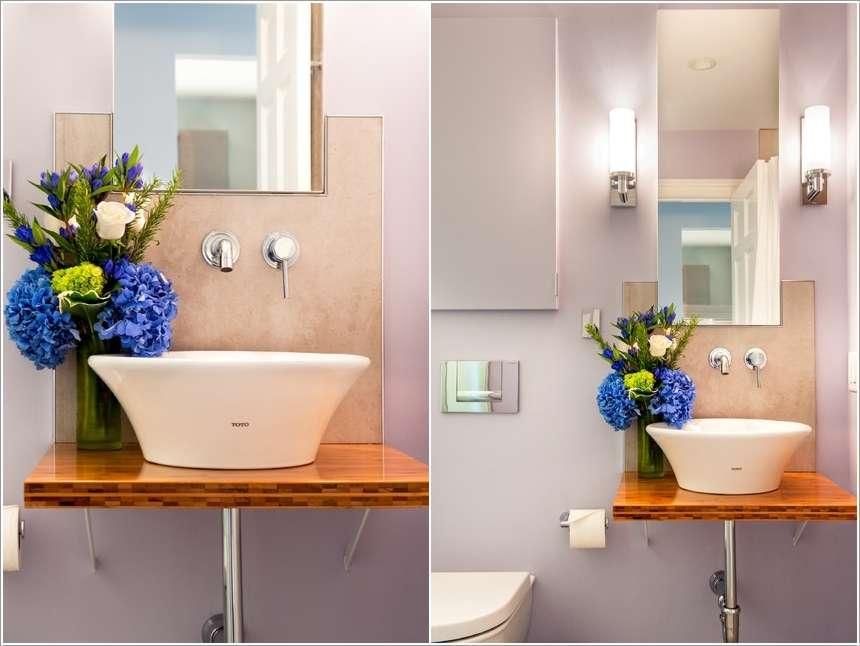 5  15 Fabulous Small Bathroom Makeover Ideas 524