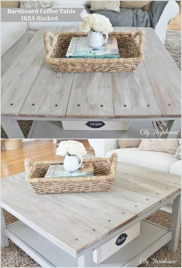5  15 Awesome DIY Coffee Table Ideas for Your Living Room 53