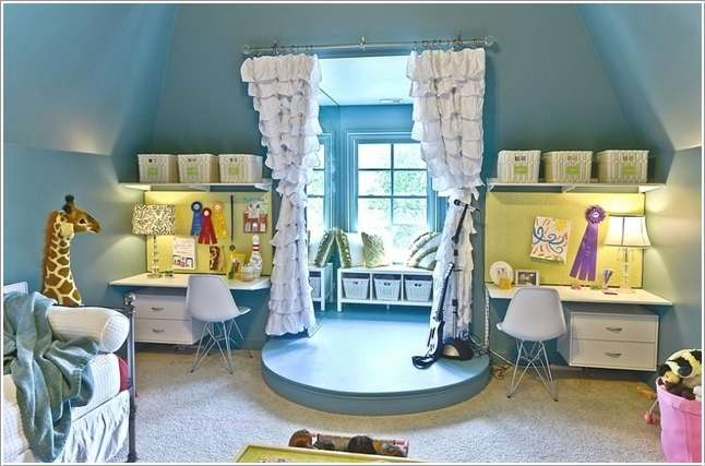 6  15 Cool and Fun Ideas for Your Kids' Room 61
