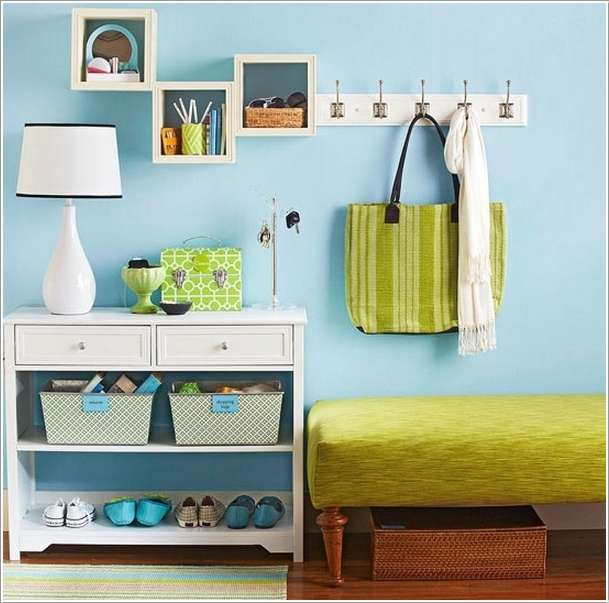 6  15 Amazing DIY Projects for Your Entryway 616