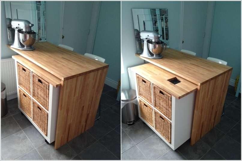 15 cool and clever ikea bookcase hacks. Black Bedroom Furniture Sets. Home Design Ideas
