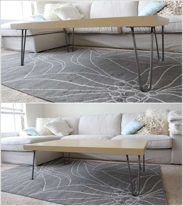 6  15 Awesome DIY Coffee Table Ideas for Your Living Room 63