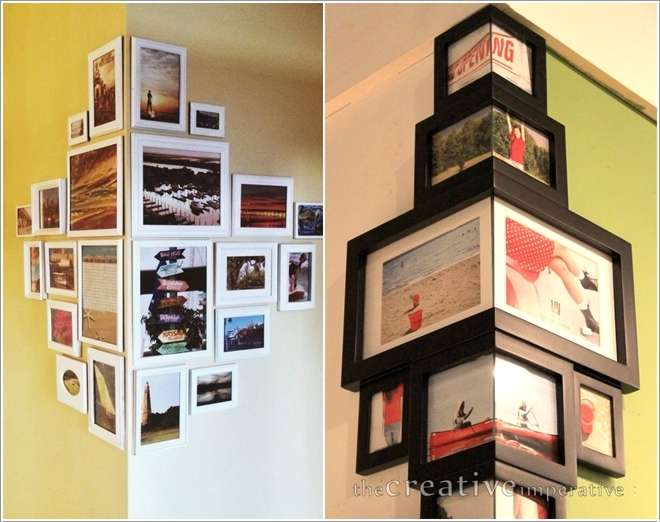 7  10 Amazing Ideas to Decorate Your Home with Frames 7