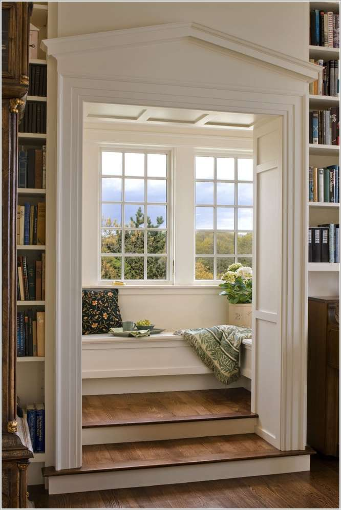 15 Amazing Indoor and Outdoor Reading Nooks on Backyard Nook Ideas id=24542