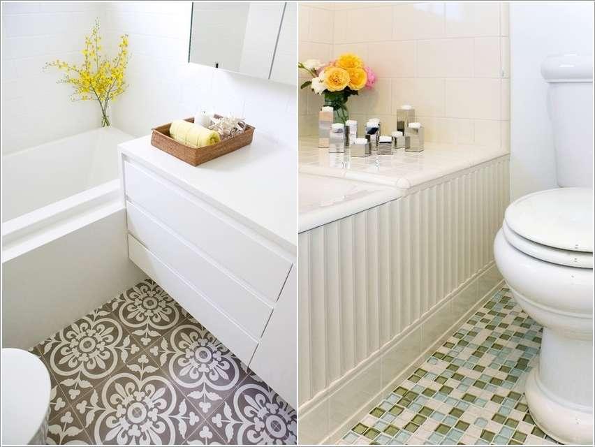 7  15 Fabulous Small Bathroom Makeover Ideas 725