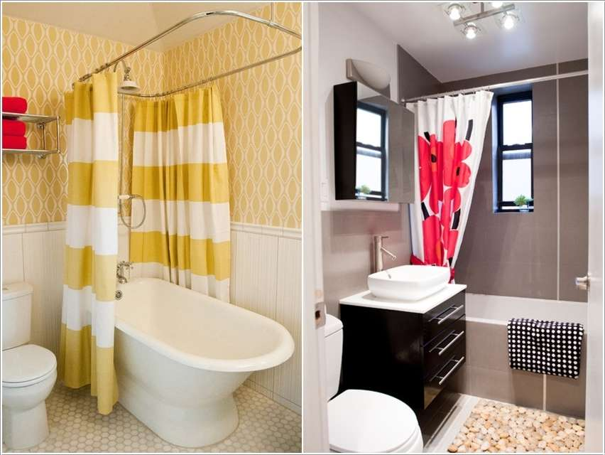 8  15 Fabulous Small Bathroom Makeover Ideas 825