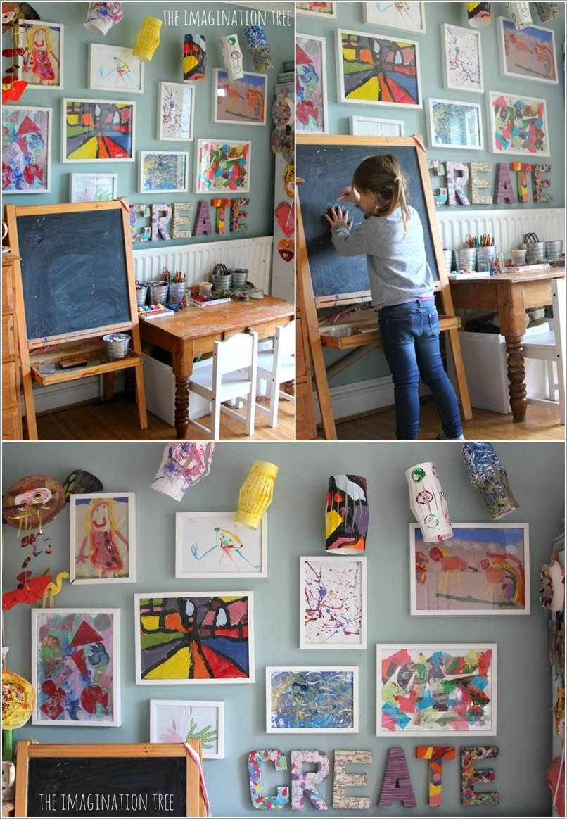 9  10 Amazing Ideas to Decorate Your Home with Frames 9