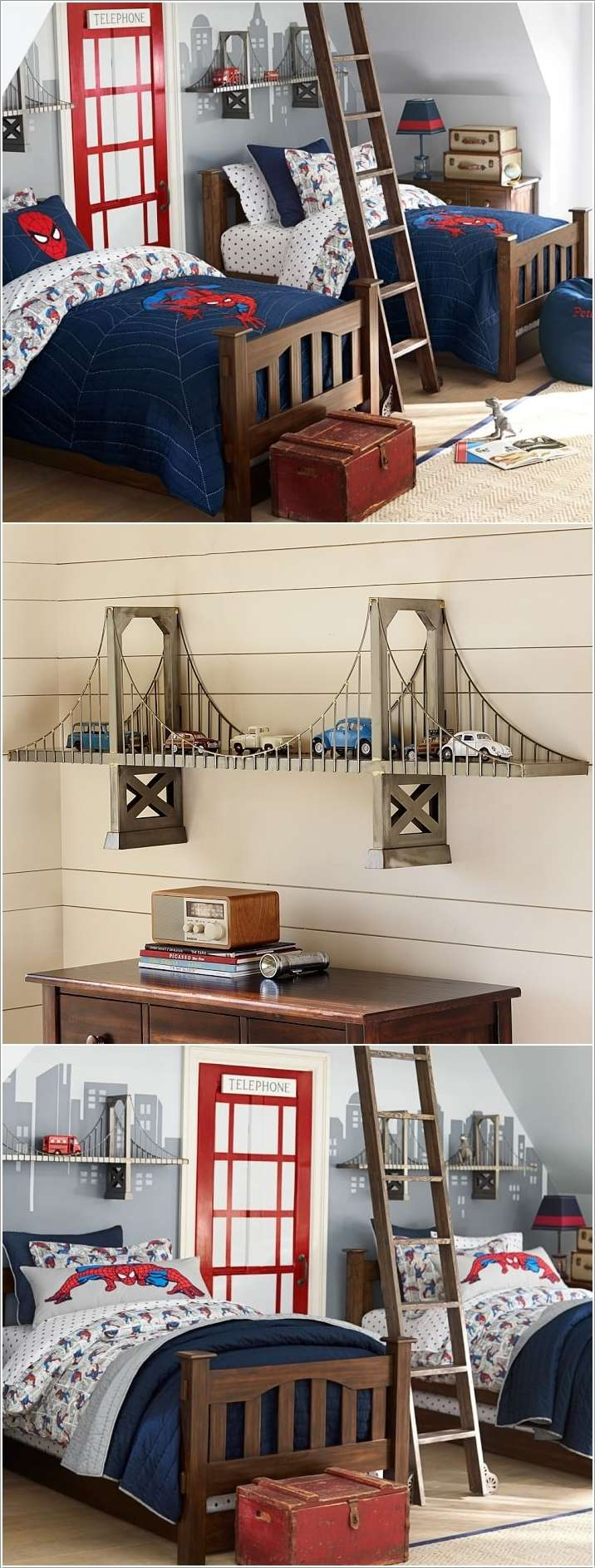 9  15 Cool and Fun Ideas for Your Kids' Room 91