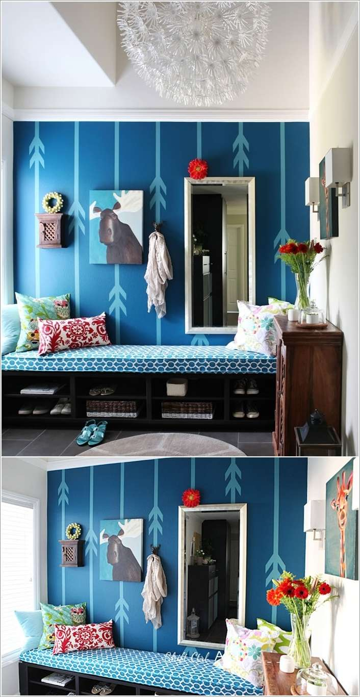9  15 Amazing DIY Projects for Your Entryway 917