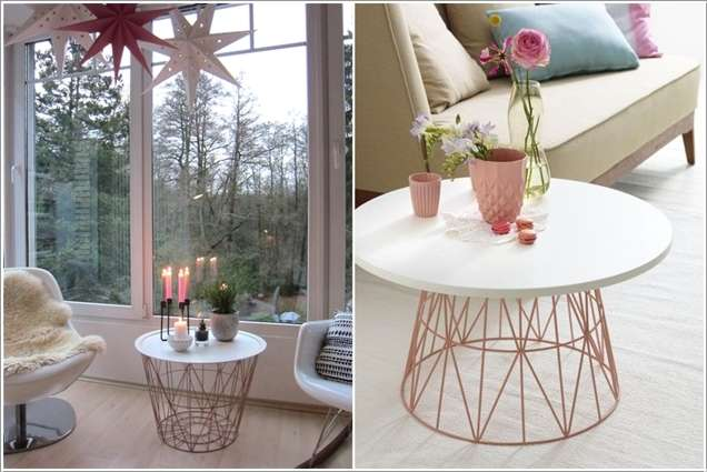 9  15 Awesome DIY Coffee Table Ideas for Your Living Room 93