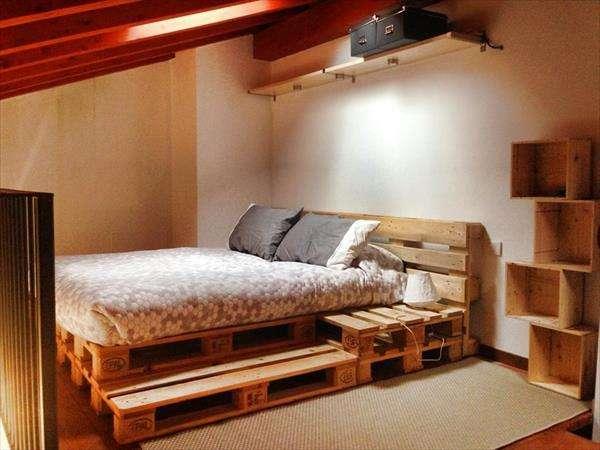 Cool Pallet Bed
