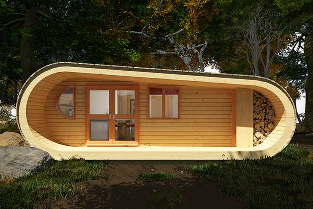 Eco-Perch tiny tree house