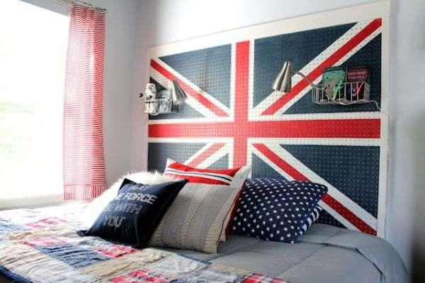 Flag Headboard