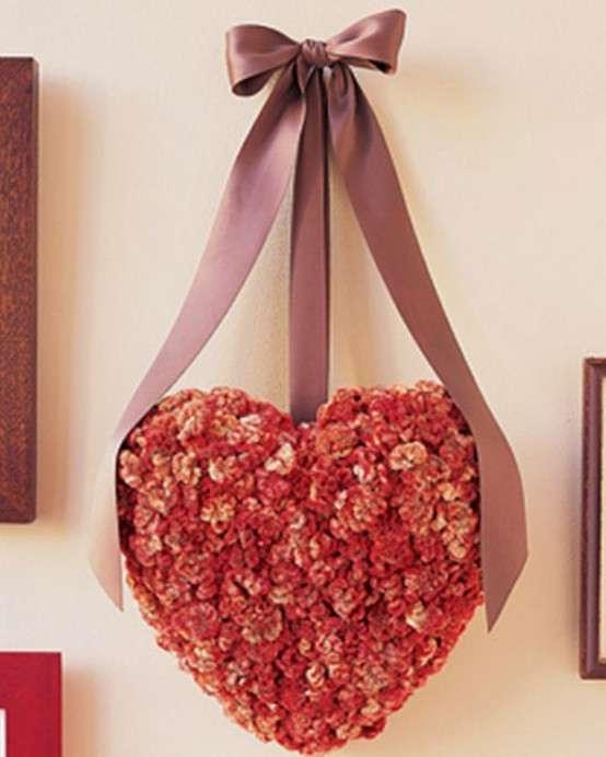 Heart Shaped Valentine's Wreath