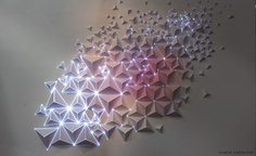 Iluminated Paper Decoration