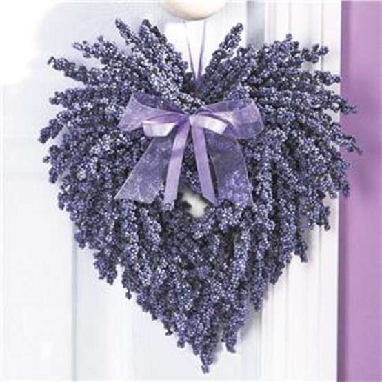 Liliac Valentine's Wreath