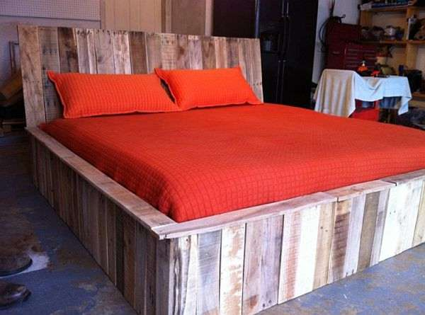 Master Bed from Pallet