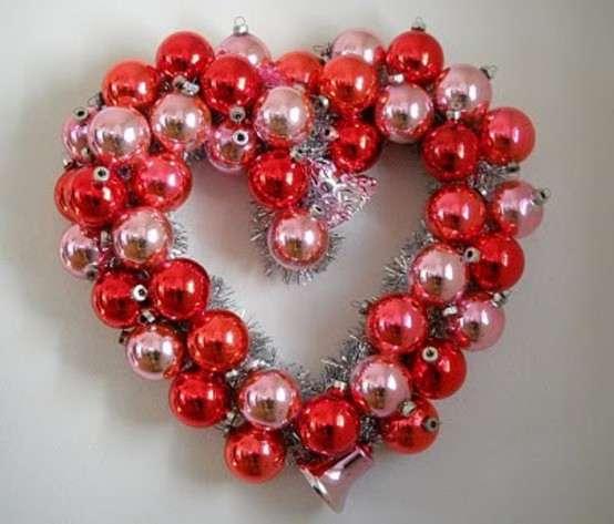 Ornaments Valentine's Wreath