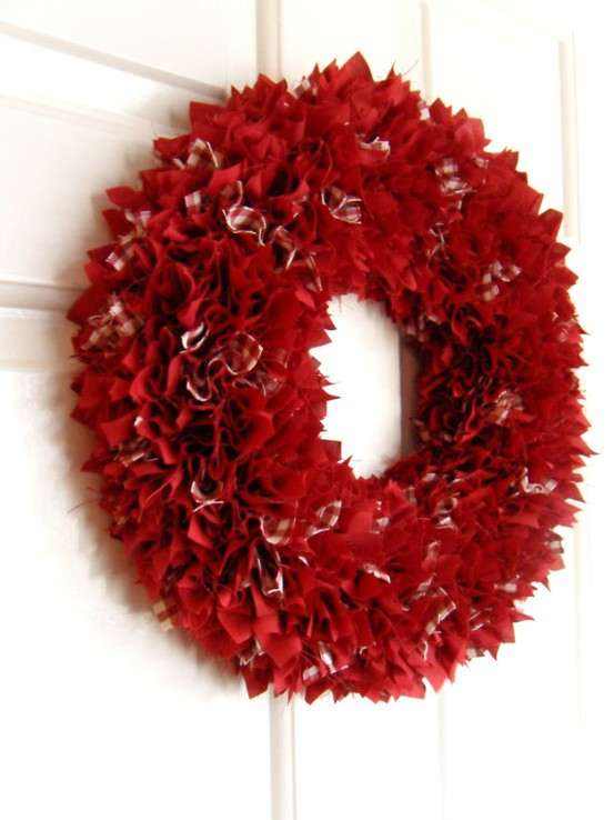 15 Romantic DIY Valentines Day Wreath Ideas