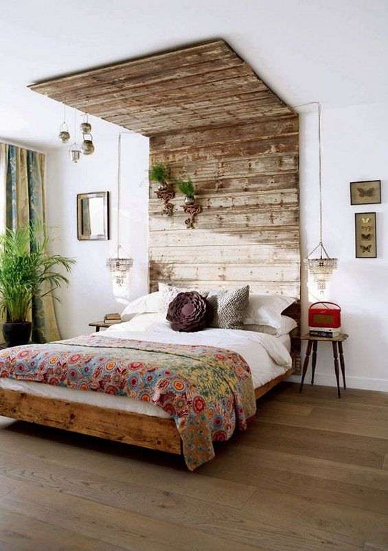 Lovely Statement Pallet Bed