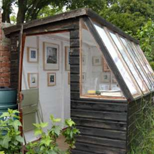 Transfor shed intro artistic nook