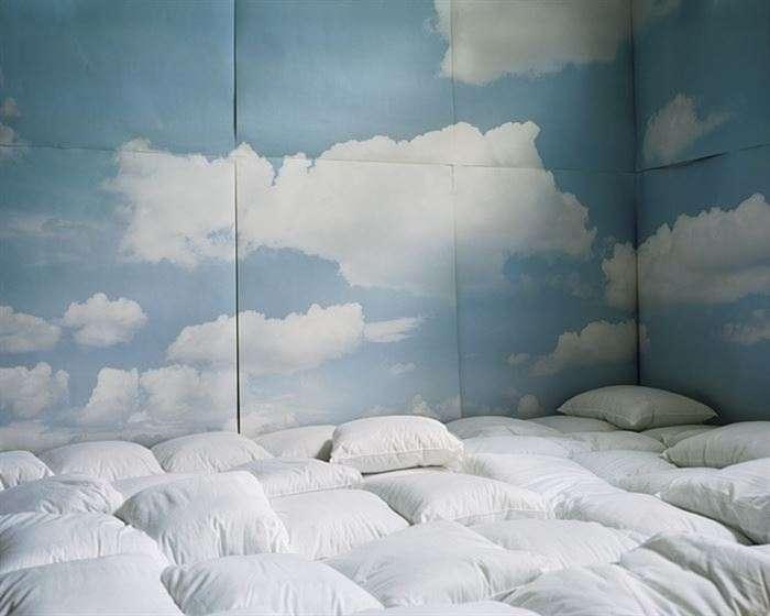 Transform Attic into comfy pillow room