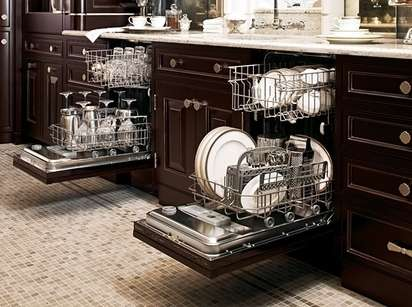 Two small dishwashers better than one big