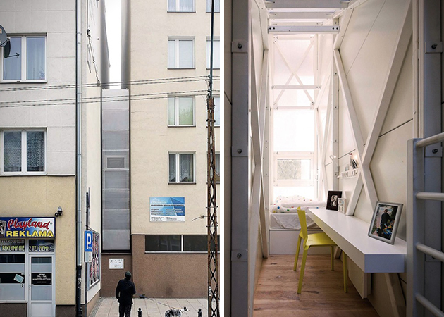 World's most narrow house